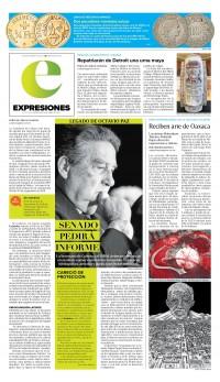 Periódico impreso de expresiones
