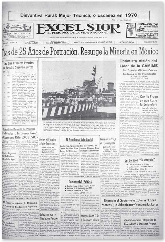 Tlatelolco: Las claves de la masacre Juegosolimpicos280718-1