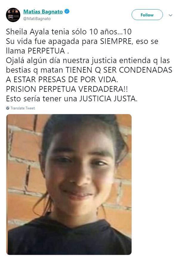 53b4fb897 El informe de la autopsia reveló que la pequeña fue estrangulada,  posiblemente con una sábana. Todo apunta a que murió el mismo día que  desapareció.