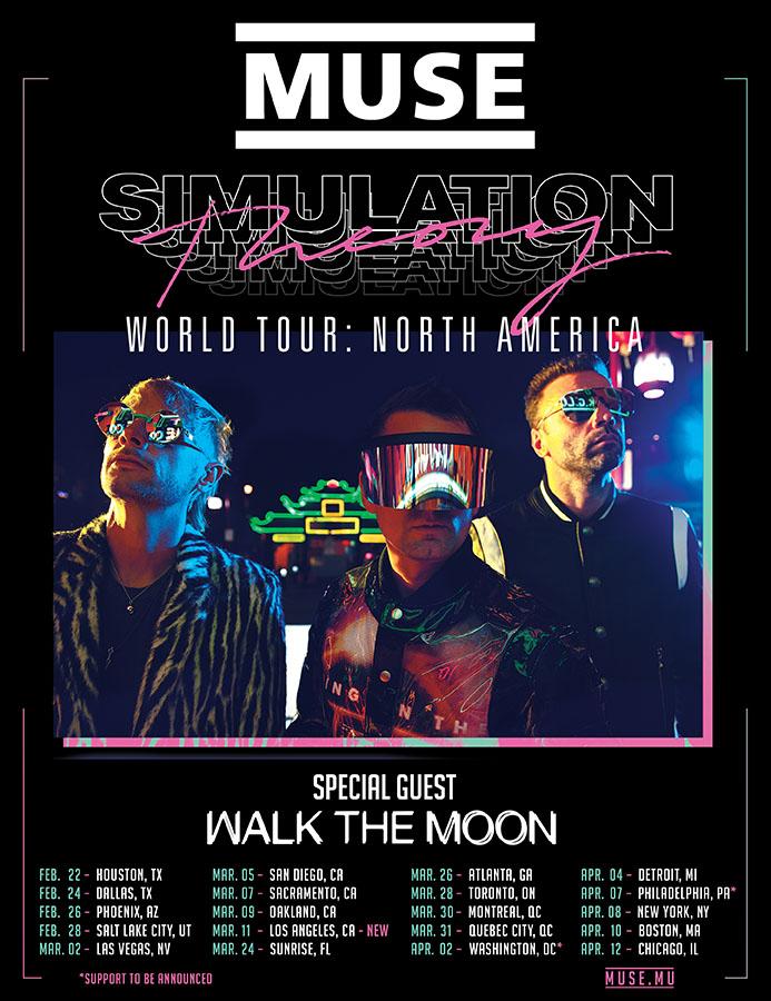 Muse Tour 2020.Muse 2020 Tour Tour 2020 Infiniteradio