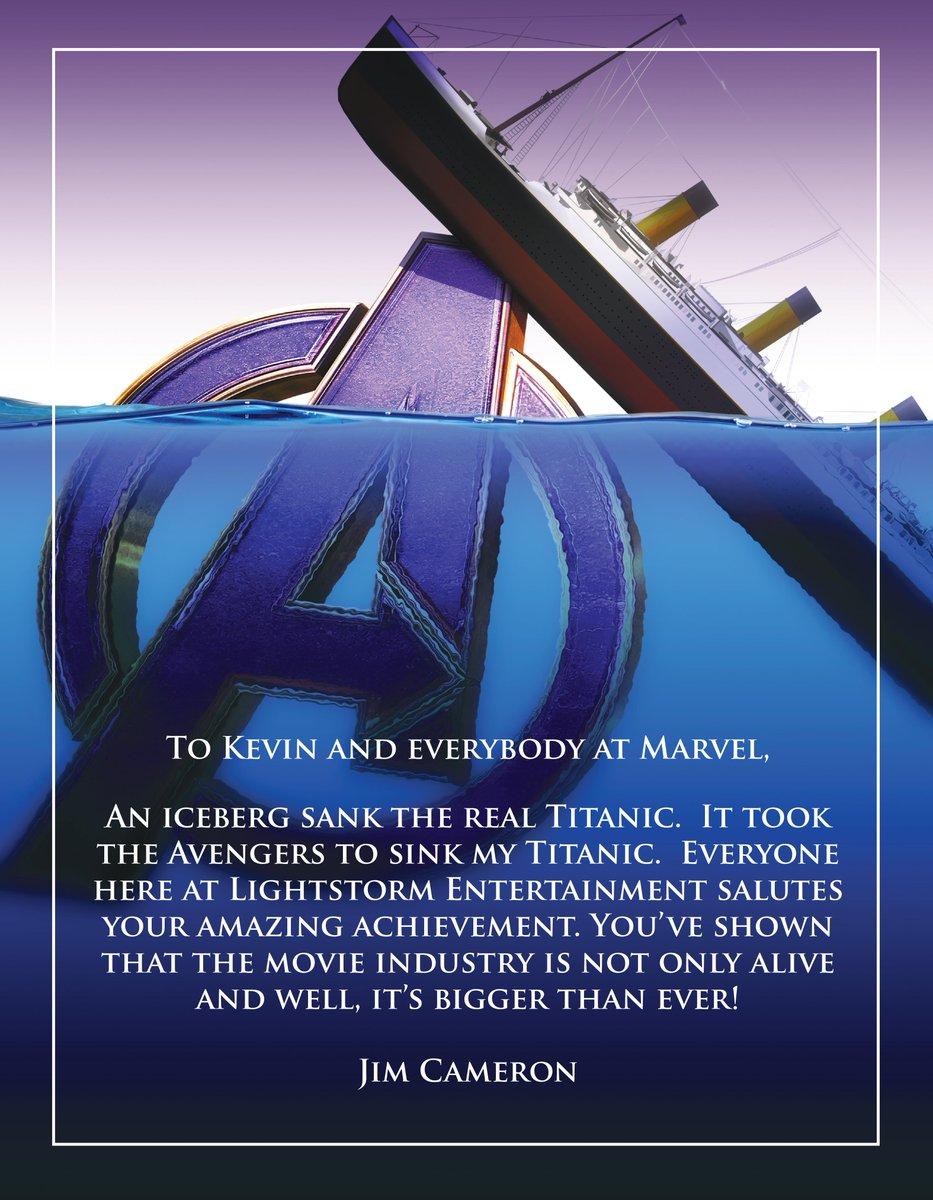 Resultado de imagen para avengers titanic