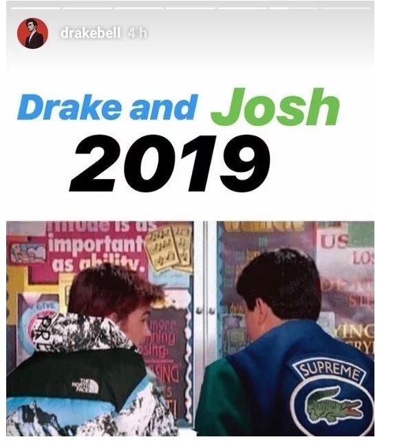 Resultado de imagen para drake y josh regresan 2019