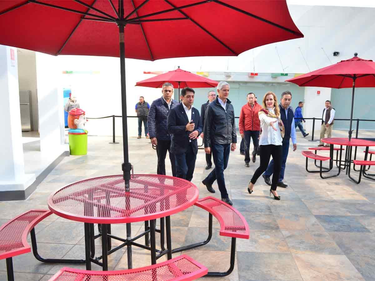 Inaugura Del Mazo Centro De Convivencia Familiar En Ecatepec