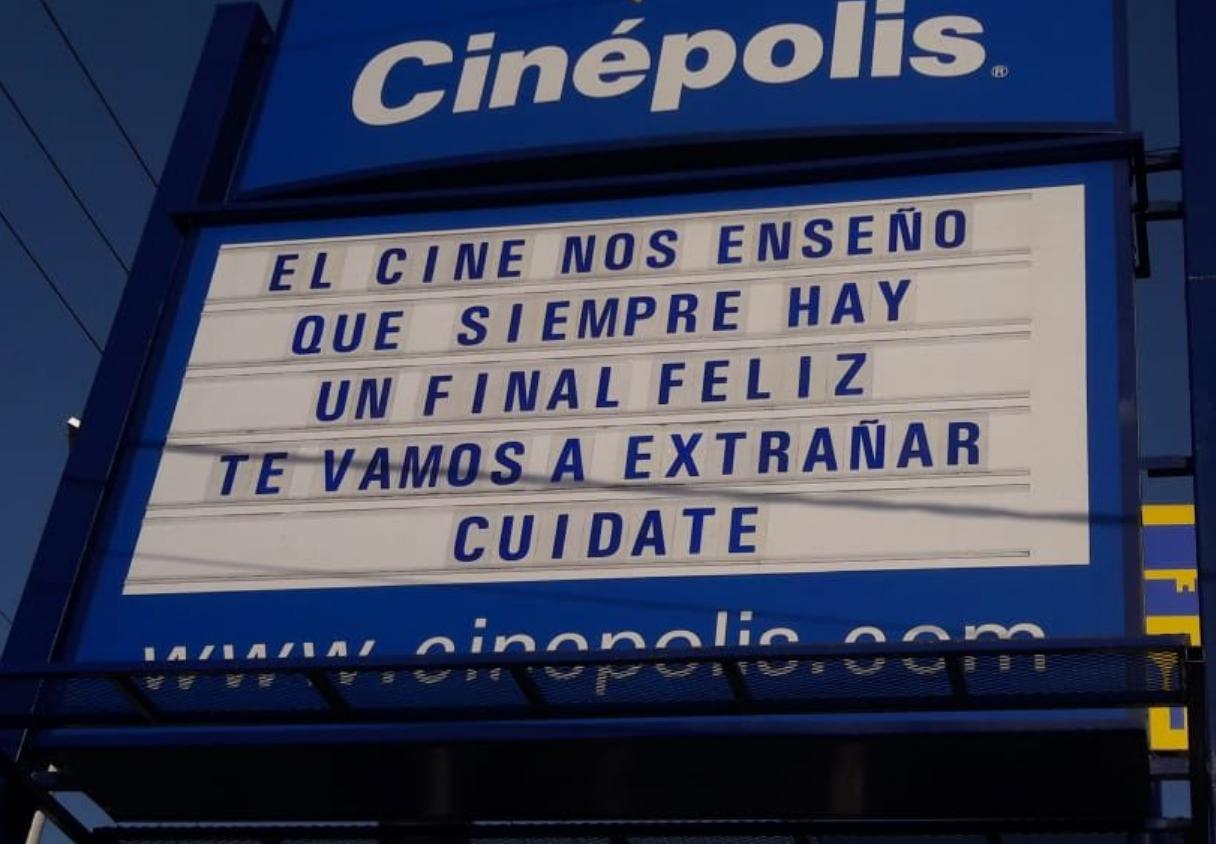 Siempre hay un final feliz'; Cinépolis deja conmovedor mensaje a ...