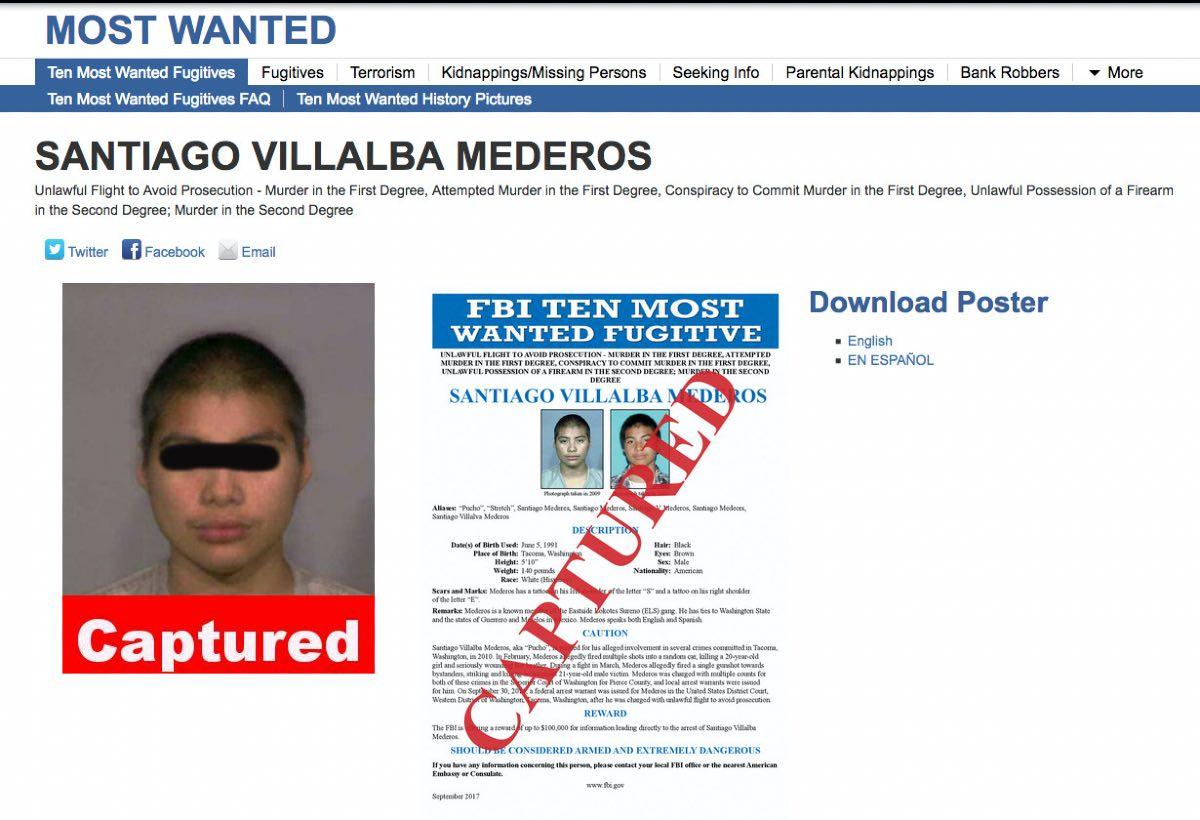 Detienen al 'Pucho' en México que enfrenta cargos de homicidio en Estados Unidos