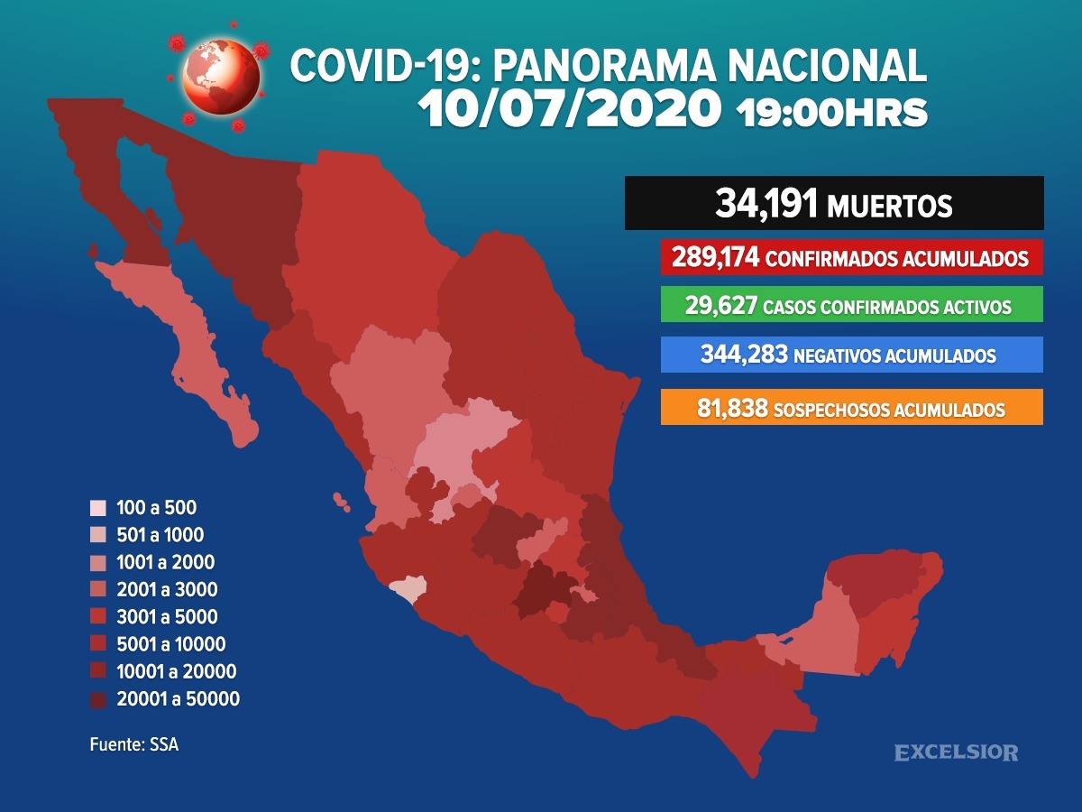 Semáforo de riesgo por coronavirus en México ya no será revelado por datos falsos