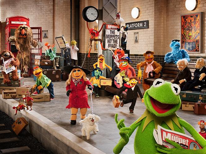 Muppets Most Wanted' lleva a René y a Peggy por Europa