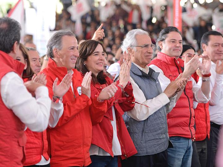 El candidato de la colación Todos por México a la Presidencia de la República, José Antonio Meade - Foto: Especial