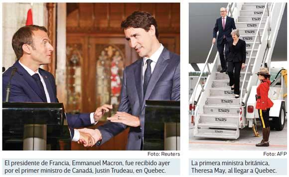 Dirigentes del G7 acuerdan un comercio más justo y sin proteccionismos