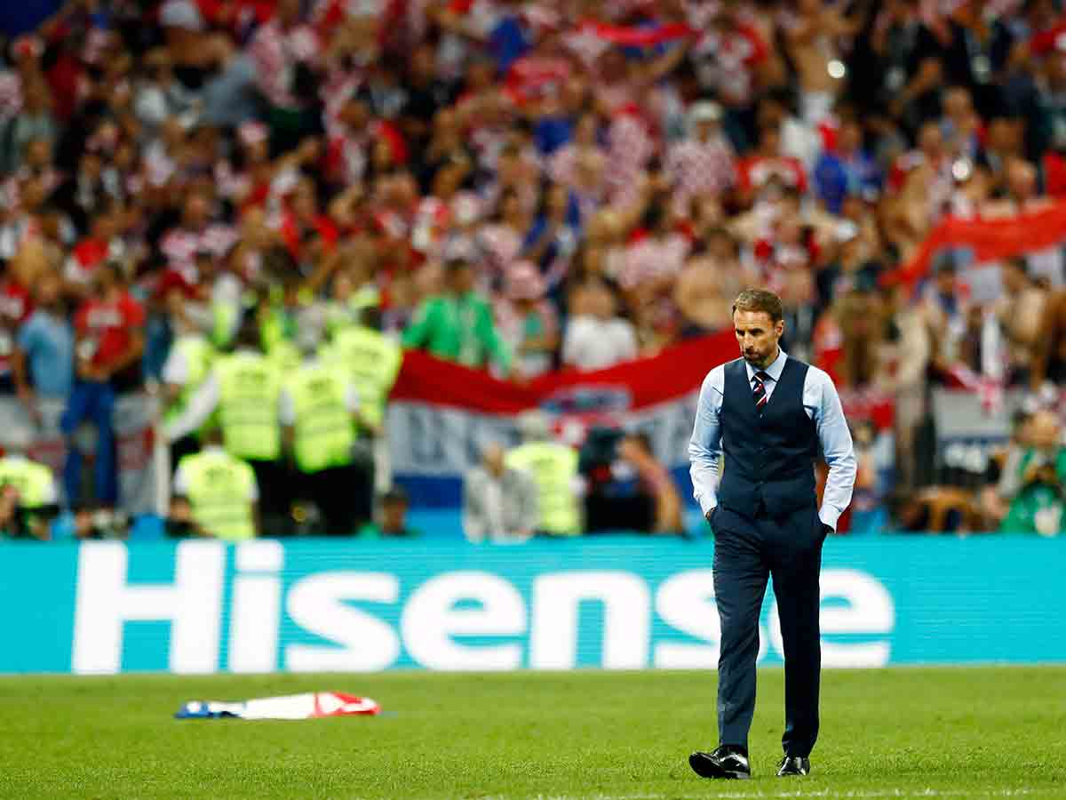 Gareth Southgate, entrenador, Selección Inglaterra, semifinal, Mundial, Rusia 2018, Selección Croacia, Futbol