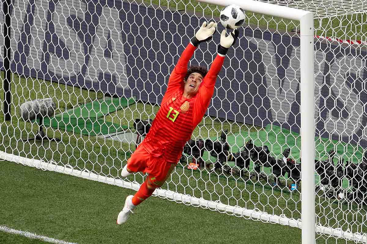 Guillermo Ochoa, mejor portero, Selección México, Mundial, Rusia 2018, Futbol