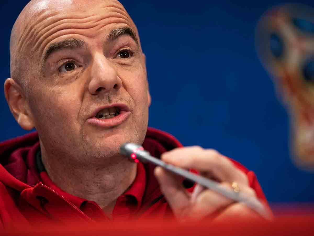 Gianni Infantino, presidente, FIFA, mejor Mundial, Rusia 2018, VAR, Futbol
