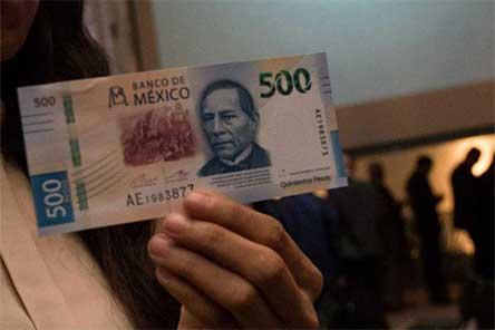 sorprende, banco de mexico, banxico, falsos, billetes, 500, pesos, economia, falsificadores, falsificacion, excelsior, nacional, noticias, mexico