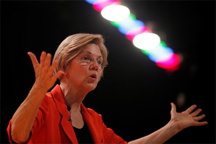 Ataca Trump a la senadora Warren y la vuelve a llamar