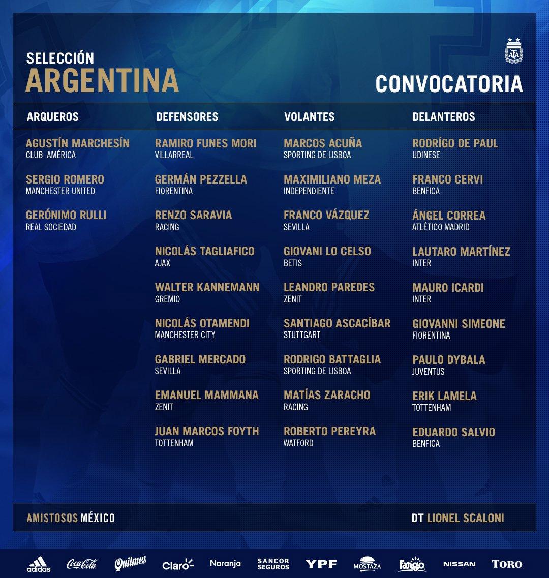 paulo dybala, selección argentina, argentina vs méxico