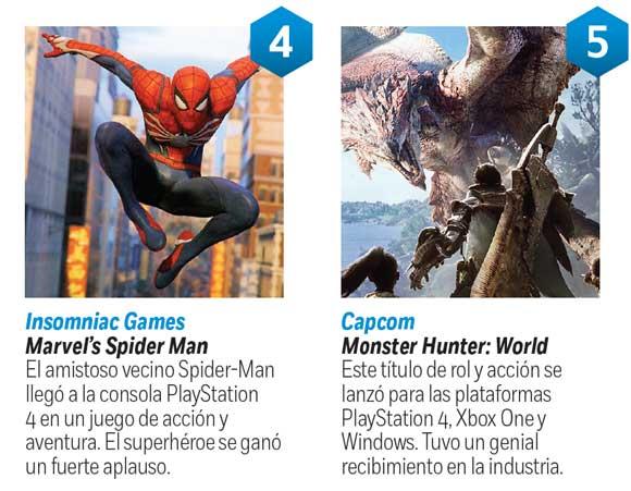 Top 7 Los Mejores Videojuegos De 2018 Dinero En Imagen Com