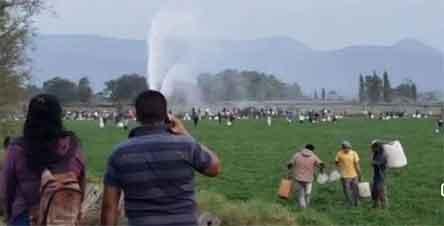 Explota oleoducto en Tlahuelipan. México