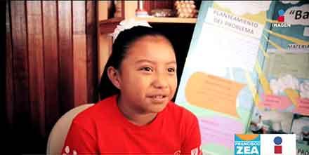 Grupo Imagen entrevista a la pequeña en su casa