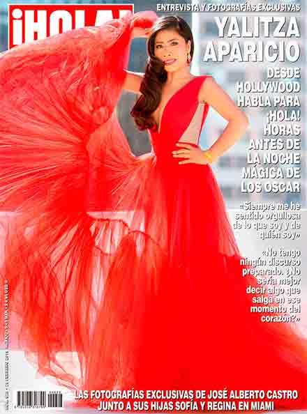 Yalitza en la portada de la revista Hola