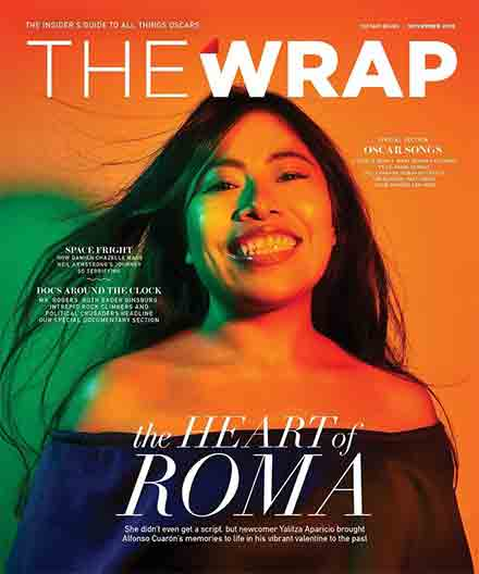 Yalitza en la portada de la revista The Wrap