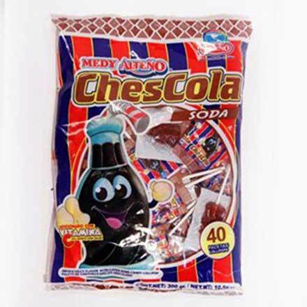 Paletas Chescolas, de Coca Cola