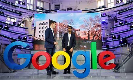 Las coloridas oficinas de Google