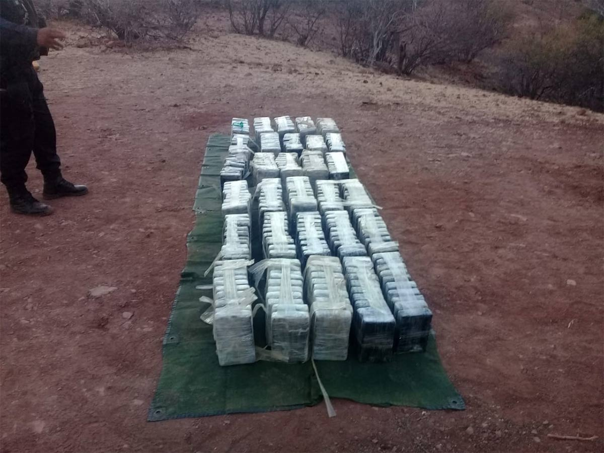 Hallan avioneta abandonada con 299 paquetes de droga en Guerrero