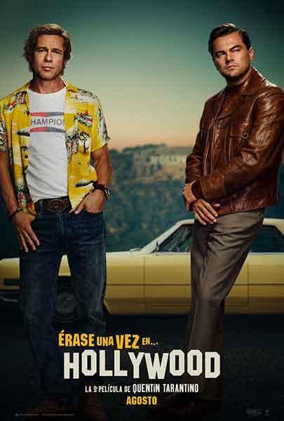 Nuevo filme de Tarantino reúne por primera vez a Brad Pitt y Leo DiCaprio