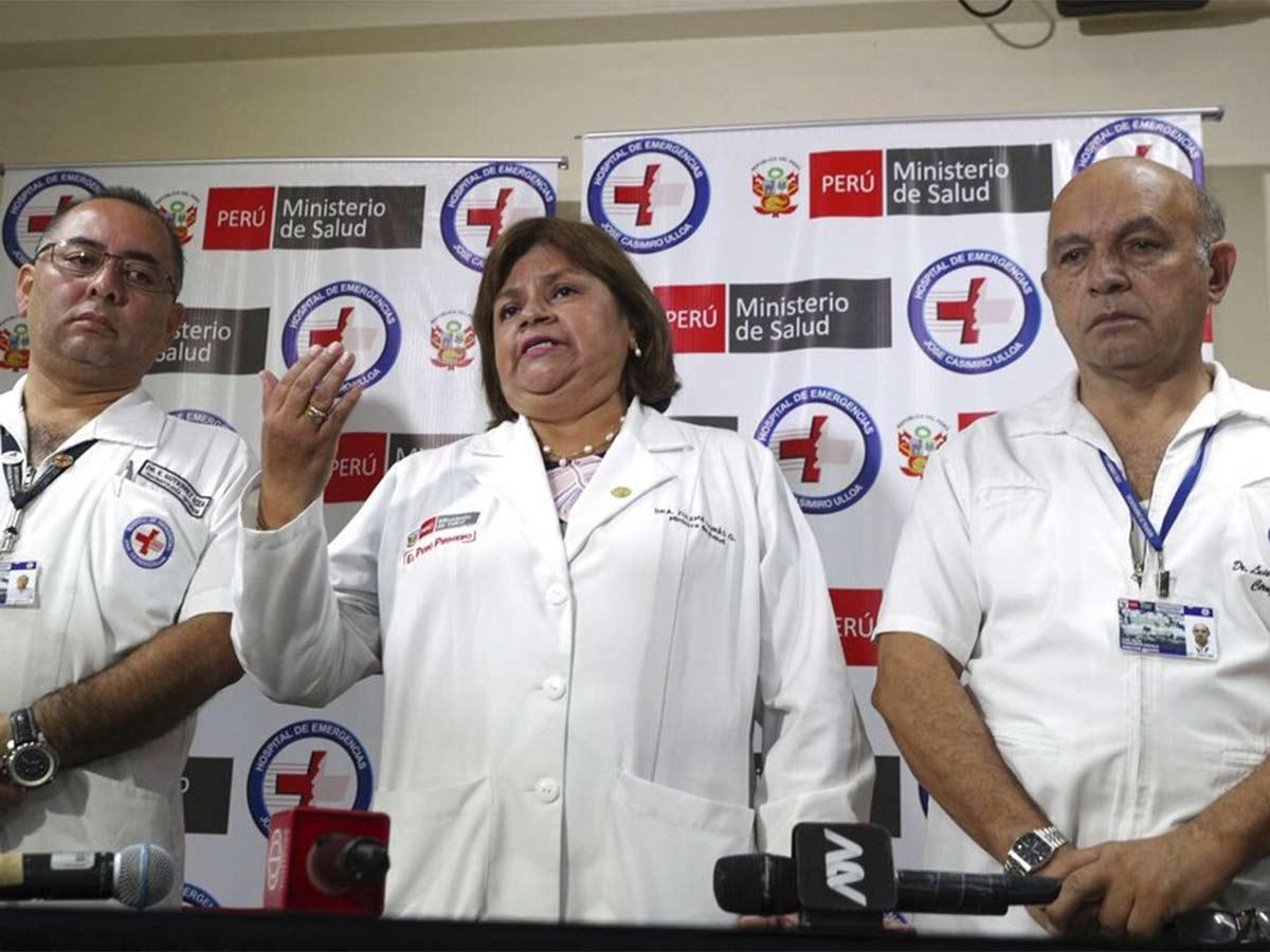 La ministra de salud, Zulema Tomás González, dijo que el exmandatario de 69 años está siendo sometido a una operación  // Foto: AP