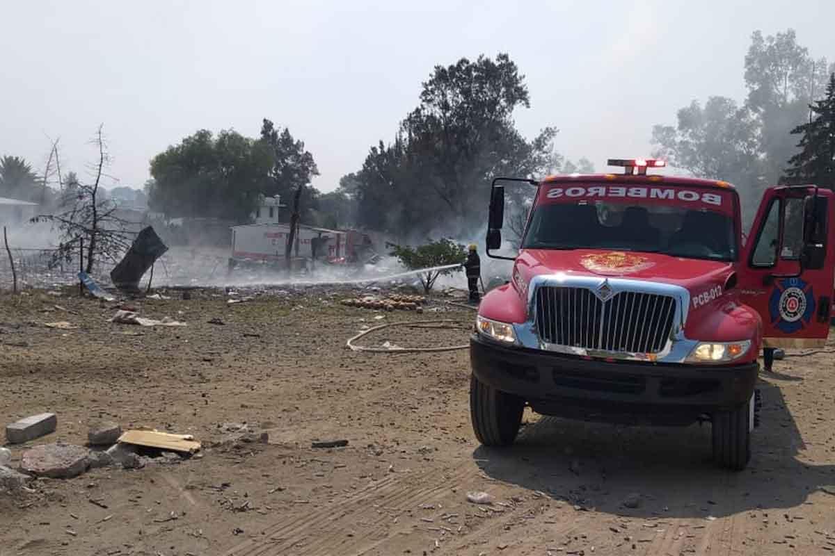 Una nueva explosión de polvorín ocurrió, la mañana de este sábado en la colonia Santiago