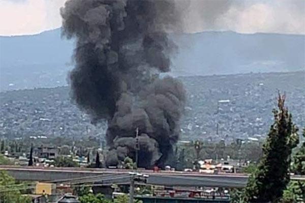 incendio en Tláhuac