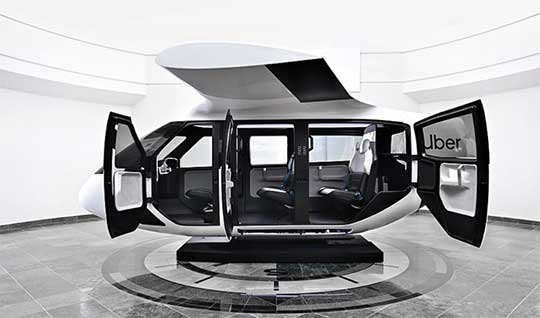 Así será el taxi aéreo que Uber planea lanzar en 2023