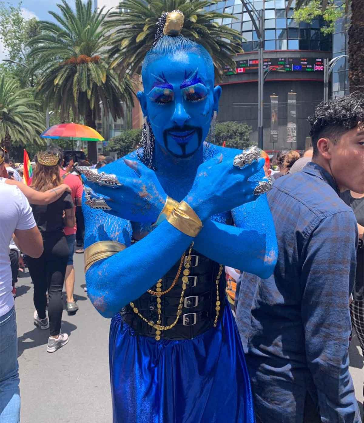 Inicia la marcha gay en Paseo de la Reforma