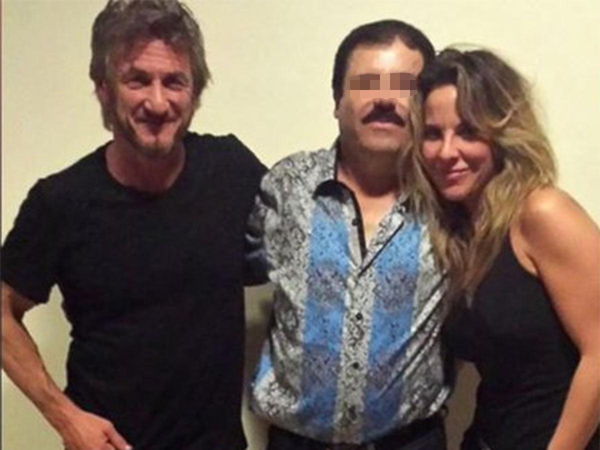 En octubre, concede una entrevista secreta con el actor estadounidense Sean Penn, en presencia de la actriz mexicana Kate del Castillo, a quien venera