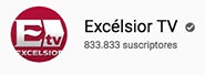Excelsior TV Logotipo de YouTube