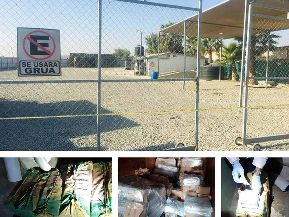 En el combate a la delincuencia organizada se logró asegurar droga, armas, cartuchos e inmuebles