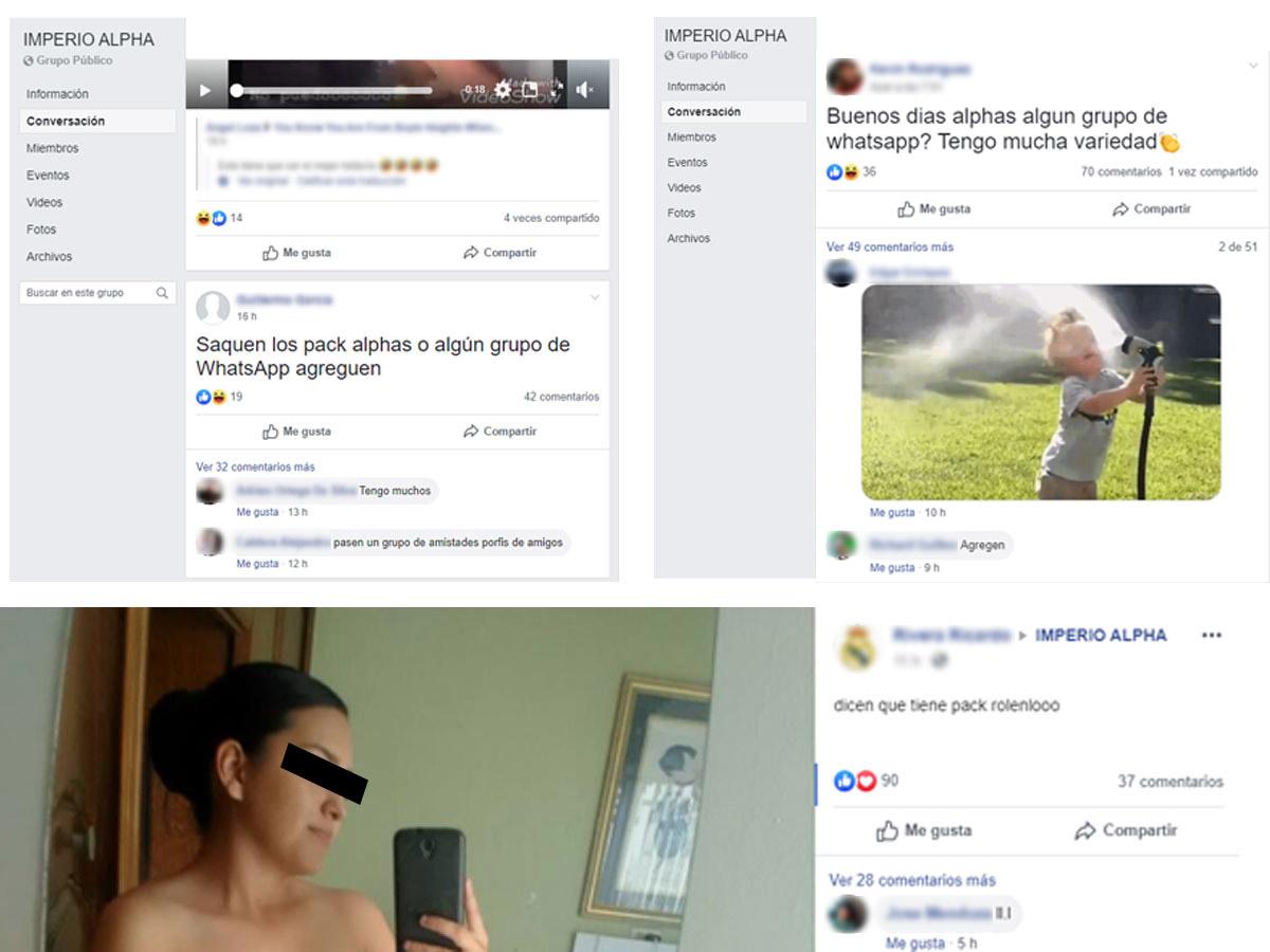 Grupo de Facebook Imperio Alpha