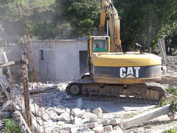 Autoridades recuperaron 8.2 hectáreas de terrenos invadidos en el Parque Nacional Cañón del Sumidero. Foto: Especial