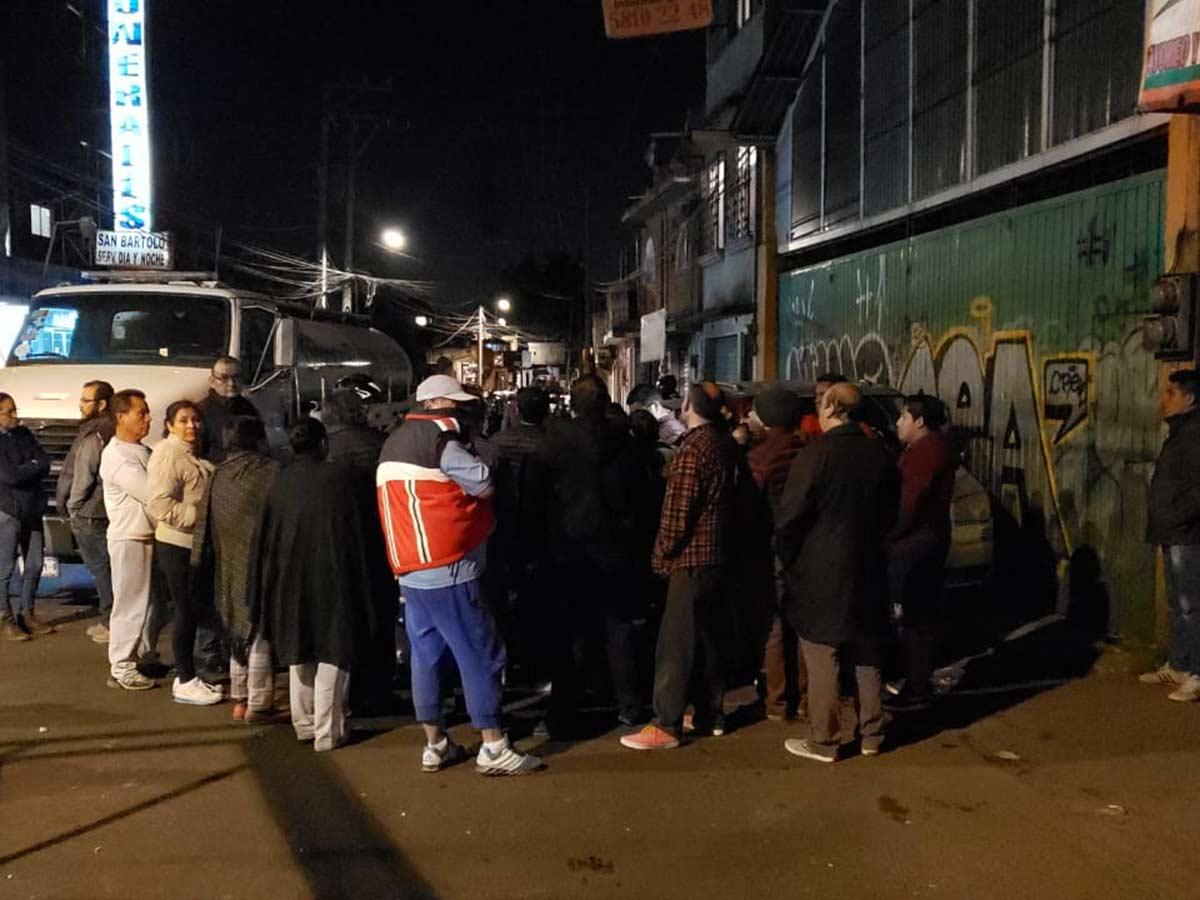 Los manifestantes dialogaron con autoridades. Foto: Mauricio Hernández
