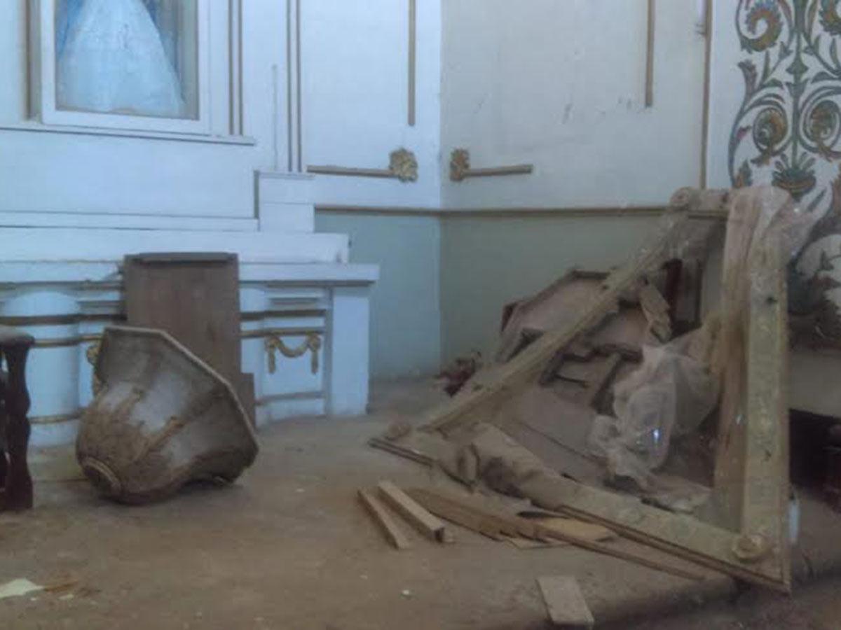 En Santa María Petapa tuvo daños el templo de Asunción de María