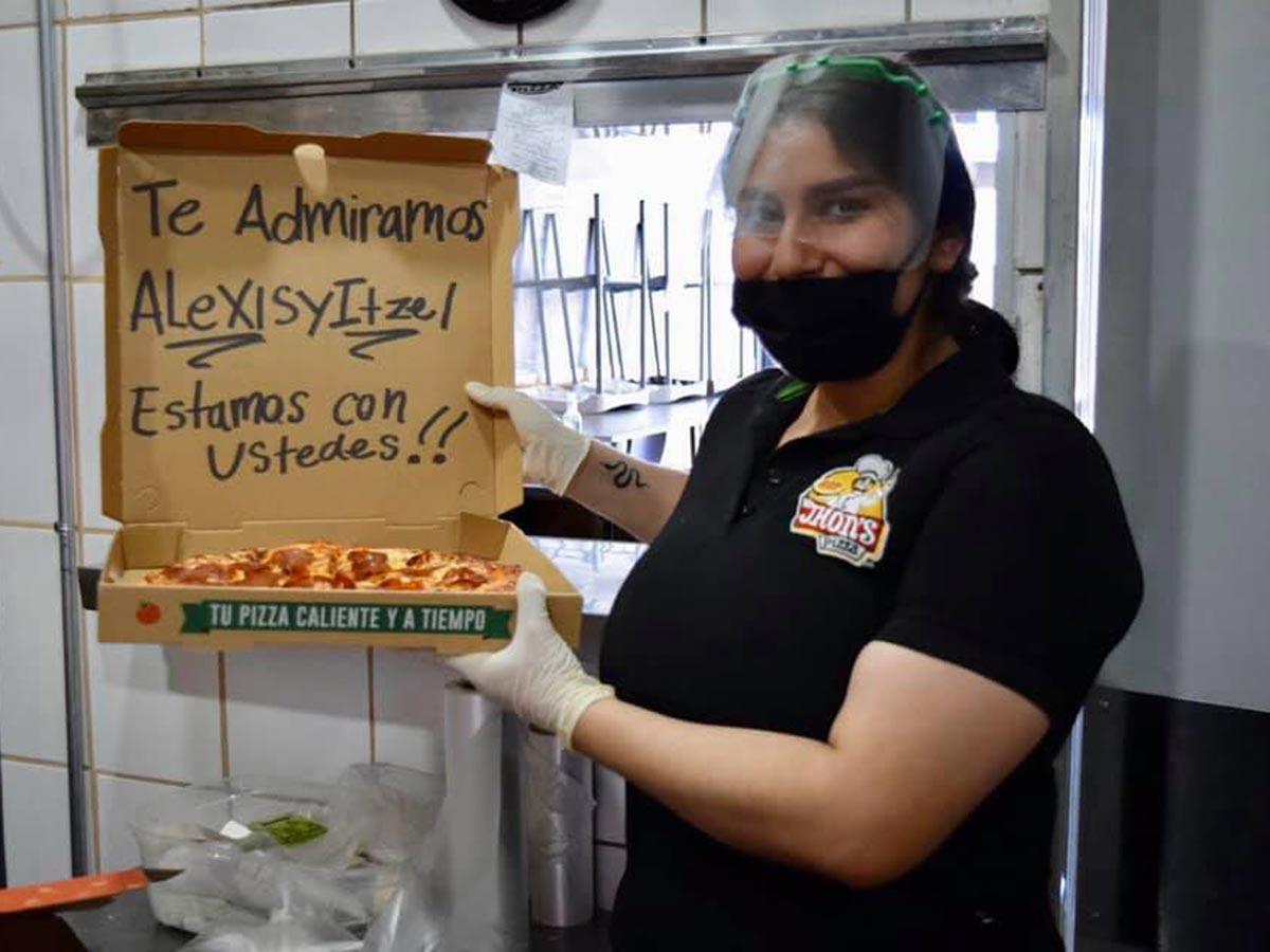La acción del pequeño Alexis tuvo su recompensa / Foto: Facebook