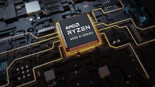 Su procesador AMD Ryzen 7 4800H tiene hasta 8 núcleos y está equipado con gráficos AMD RadeonTM