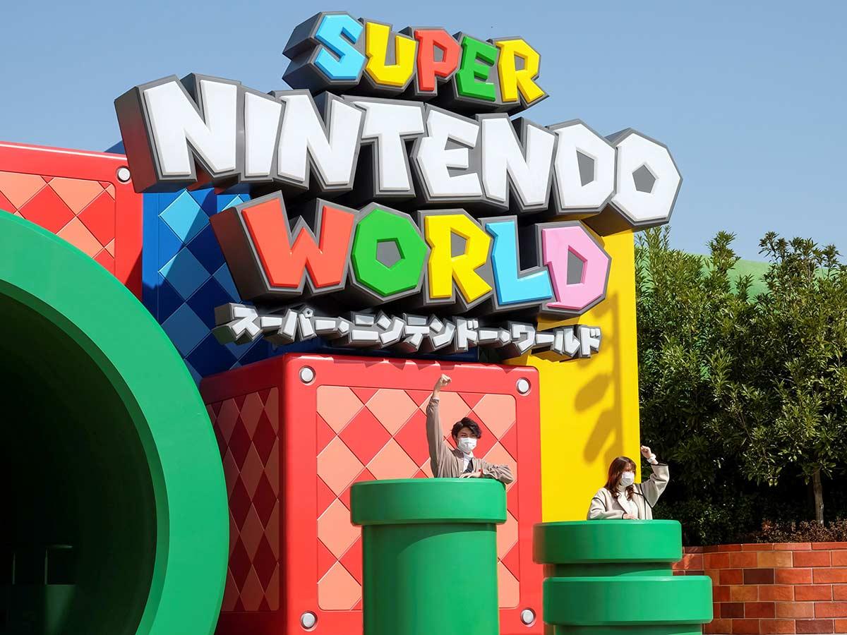 Super Mario estrena impresionante parque de diversiones; así luce