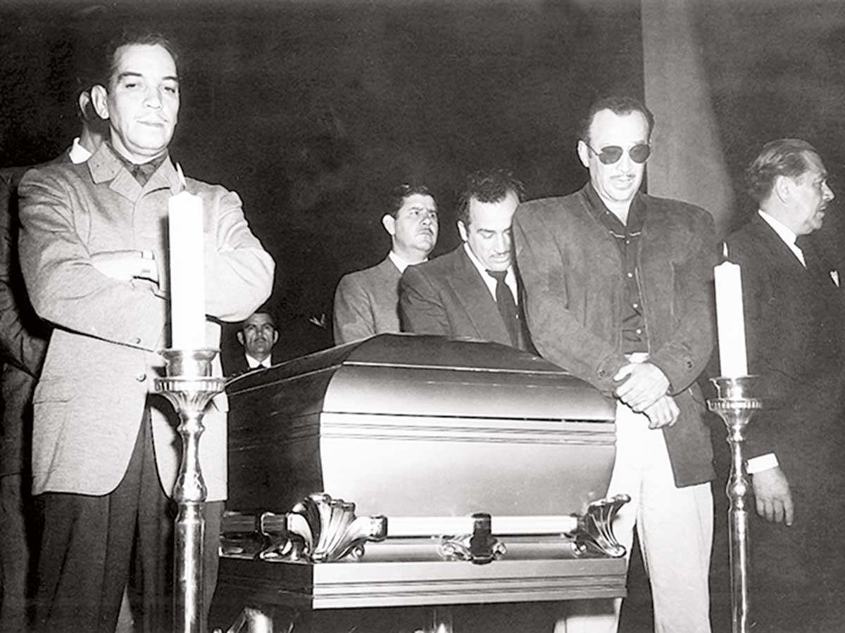 Funeral de Pedro Infante / Foto: Archivo