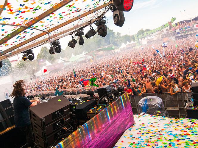 Sigue en directo la transmisión del Tomorrowland 2014