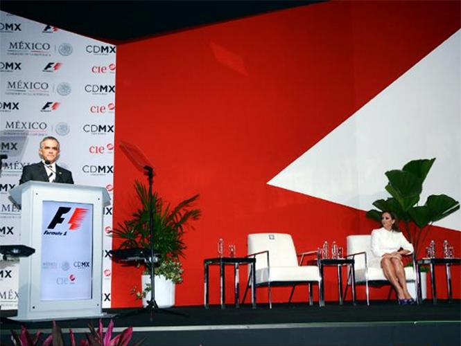 Fórmula 1 beneficiará el turismo de la Ciudad de México: Mancera