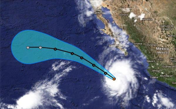 Hernán ya es huracán 1, anuncia David Korenfeld