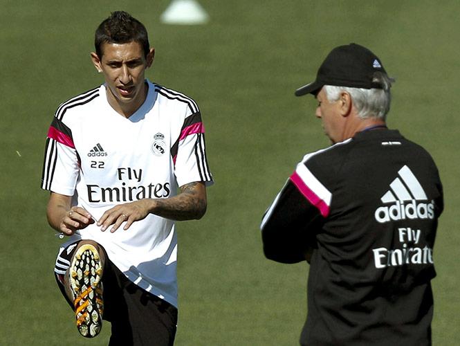 Di María pidió irse del Real Madrid