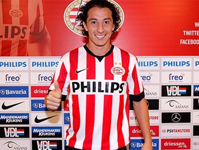 Guardado se pone a disposición del técnico (Foto: Cortesía PSV)