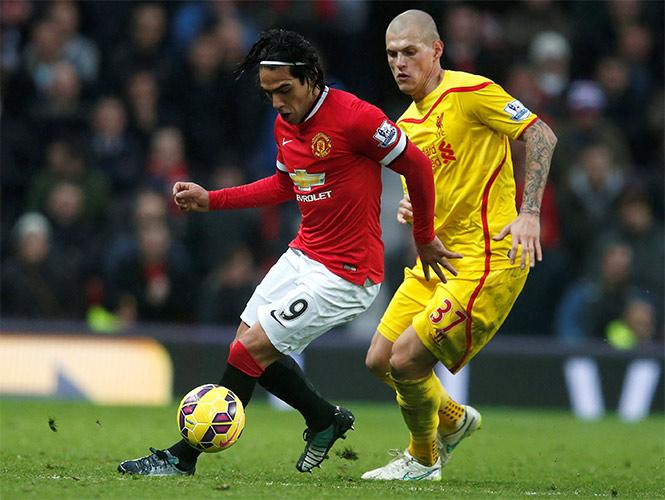 Van Gaal condiciona a Falcao para que juegue (Reuters)